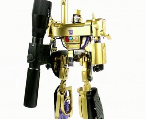 Video Review of MP-05G Gold Megatron