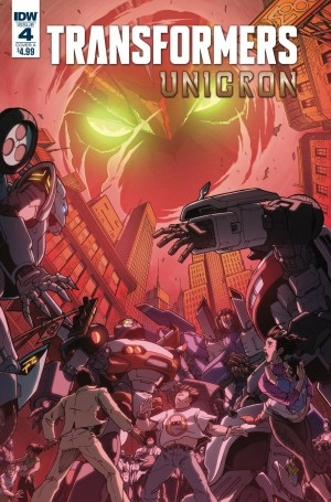 Transformers News: iTunes Preview for IDW Transformers: Unicron #4