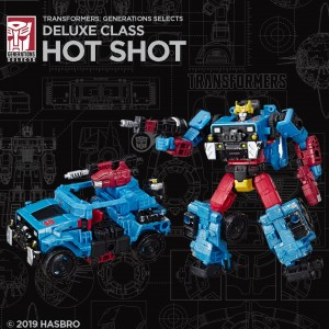 Transformers News: Official Images for Transformers Generations Selects Cromar and Hot Shot