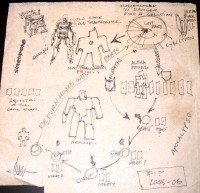 "Transformers News: Aaron Archer's Transformers: Cybertron ""Napkin of Revelation"""