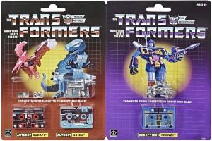 Transformers News: G1 Dino Casette Reissues Noizu and Gurafi on Amazon.ca