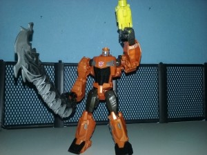 Pictorial Review of Transformers Cyber Battalion Grimlock
