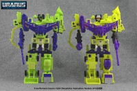Transformers News: Comparison Images: Encore 20A Anime Devastator