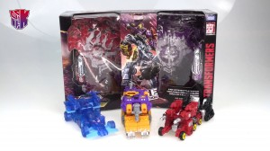 Transformers War for Cybertron Fan Vote 3 Pack Video Review with Impactor, Holo Mirage, and Aragon