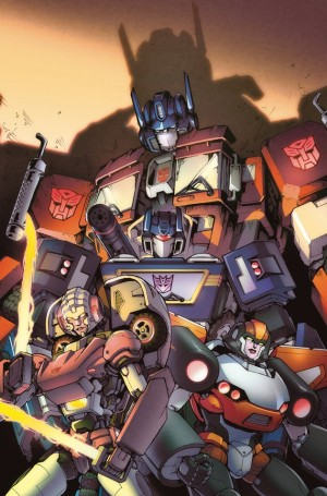 IDW Optimus Prime #1 - Variant Covers by Sonny Liew, Andrew Griffith