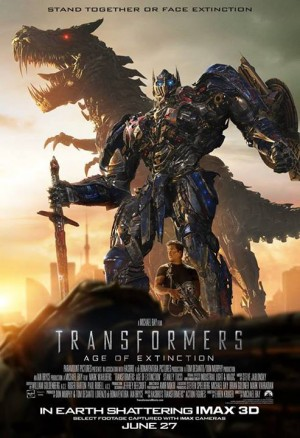 Transformers: Age of Extinction Social Media Poster Contest