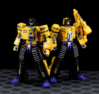 Transformers News: Chinese Language Video Review for Maketoys Bulldozer and Excavator