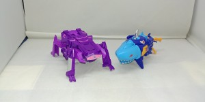 Transformers News: Transformers Cyberverse One Step Shockwave and Sky Byte Video Review
