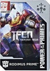 Transformers News: Transformers: Power of the Primes Collector Card Images: Dreadwind, Optimus Prime, Rodimus, More