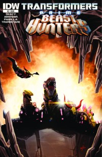 Transformers News: Transformers Prime: Beast Hunters #2 Preview