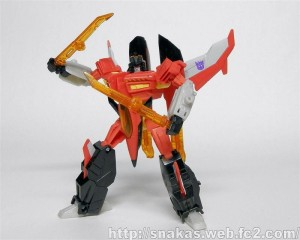 Transformers News: In-Hand Images: Transformers Generations Armada Starscream