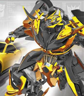 Transformers News: Transformers: Age of Extinction Bumblebee Robot Mode Image