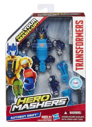 Transformers News: Official In-Package Images: Transformers Hero Mashers Optimus Prime, Starscream, Bumblebee, Bulkhead, Drift