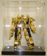 Limited Edition Leader Class Gold Optimus Prime Giveaway