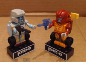 Transformers News: Video Review: Transformers Kre-O Microchangers Kup and Rodimus
