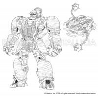 Transformers News: Transformers Generations Voyager Class Rhinox Concept Art