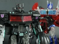 Transformers News: New Galleries: 2012 Tokyo Toy Show United Black Optimus Prime and TFP First Edition Clear Optimus