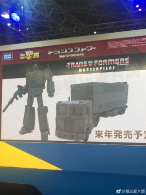 Transformers News: Takara Reveals Transformers Masterpiece Optimus Prime 3.0 at Tokyo Toy Show 2018