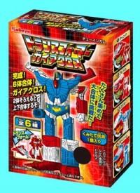 Transformers News: Kabaya Transformers Gum - Gaia Cross Revealed!