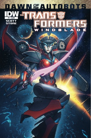 Sneak Peek: IDW Transformers Windblade #1 (Dawn of the Autobots) Preview