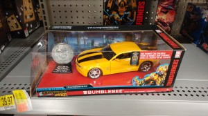 Jada Hollywood Rides 1:24 Transformers 2007 Camaro Concept Bumblebee Found in US