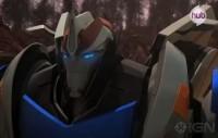"Transformers Prime ""New Recruit"" Promo Clip - Smokescreen in Action"