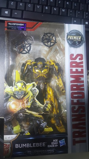 Transformers News: New Images of Limited Edition Battle Damage Bumblebee from Hasbro Singapore Midnight Madness Event
