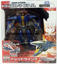 Transformers News: Packaging Shots: Takara Tomy Transformers Prime Arms Micron AM-22 Dreadwing and AM-23 Wheeljack