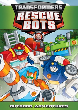 Transformers: Rescue Bots Outdoor Adventures DVD release