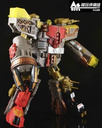 Transformers News: In-Hand Images: Platinum Edition Year of the Snake Omega Supreme