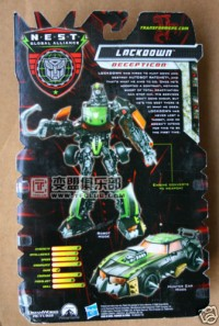 Transformers News: In-Package Images of Revenge of the Fallen Deluxe Lockdown
