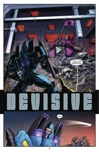Transformers: Robots in Disguise #4 Creator Commentary