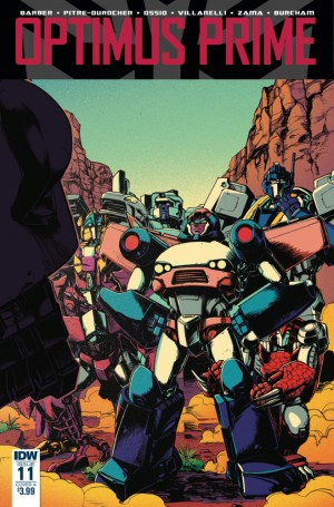 Transformers News: Main Cover Art for IDW Optimus Prime #11 by Kei Zama / Josh Burcham