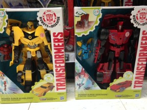 Transformers News: Transformers: Robots in Disguise Power Surge Bumblebee and Sideswipe Sighted at US Retail