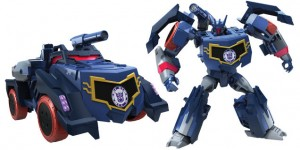 New Transformers: Robots In Disguise toys revealed; Soundwave, Bludgeon, Blurr, Twinferno, Skywarp