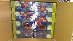 Box Assortment and Clearer Card Images of Exclusive Transformers Robots in Disguise Starscream, PS Prime and Paralon
