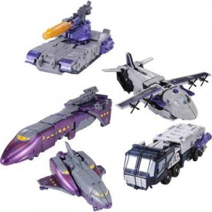 Transformers News: New Official Images: Asian Market Exclusive Specialist: Decepticons