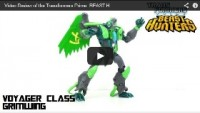 Transformers News: Optibotimus Reviews: Transformers Prime Beast Hunters GRIMWING