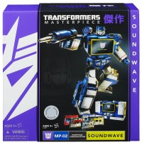 Transformers News: New Official Images: Masterpiece Soundwave with Cassettes, Generations Metroplex & Trailcutter Packaging, Beast Hunters Voyager Optimus Prime vs. Predaking 2-Pack