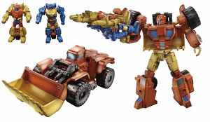 Transformers News: Video Review:Transformers Generations 30th Scoop with Holepunch & Caliburst