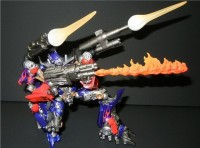 Transformers News: Sci-Fi Revoltech Optimus Prime Images from Wonder Festival 2011