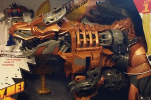 Transformers News: In-Hand Images of Stomp and Chomp Grimlock