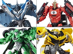 Wave 3 Deluxes from Transformers: The Last Knight Found in the US