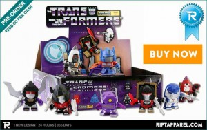 Transformers News: Ript Apparel Promo - WIN a Loyal SubjectsTransformers 3″ Vinyl Toy Series 02 Random Figure