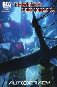 Transformers News: Seibertron.com Reviews IDW Transformers: Autocracy #5