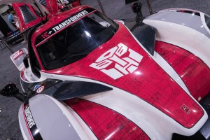 Transformers News: HASCON 2017: Transformers D3+ Race Car based on Radical RXC Sportscar