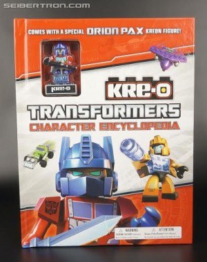 In-Hand Images:Transformers Kre-O Character Encyclopedia