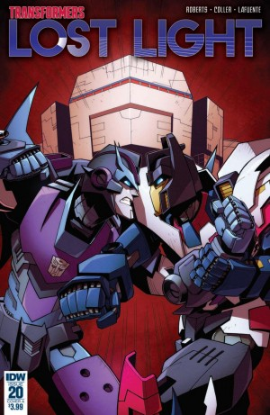 Review of IDW Transformers: Lost Light #20