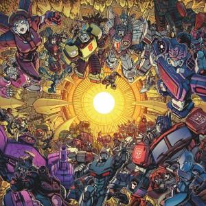 Transformers News: Process for IDW Transformers Unicron James Raiz Variant Covers