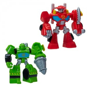 New Transformers: Rescue Bots Product Image and Description - Feature Bots Wave 1